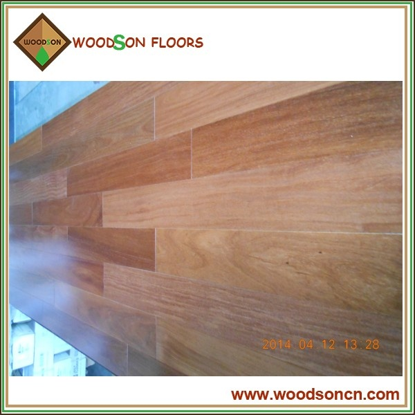 Smooth Engineered Cumaru Hardwood Floor