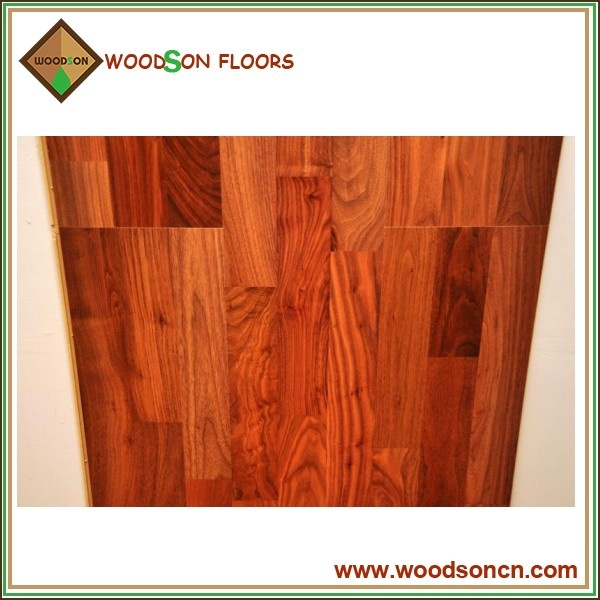 Smooth Walnut Engineered Wood Flooring
