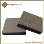 Commercial Hollow WPC Decking Floor