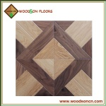 PF009 American Walnut And Oak Mix Parquet Floor