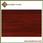 Red Stained Solid Okan Wood Flooring